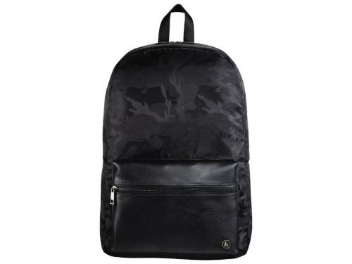 Купить рюкзак городской Hama Mission Camo Notebook Backpack 14,  черный камуфляж по цене от 2245 рублей - рюкзак городской недорого - Сумки,  портфели, ... d10c5e70b29