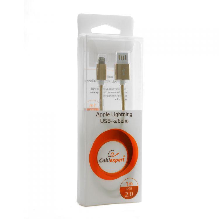 Gembird USB 2.0 Cablexpert (CCB-ApUSBgd1m) 1� ������� ��������