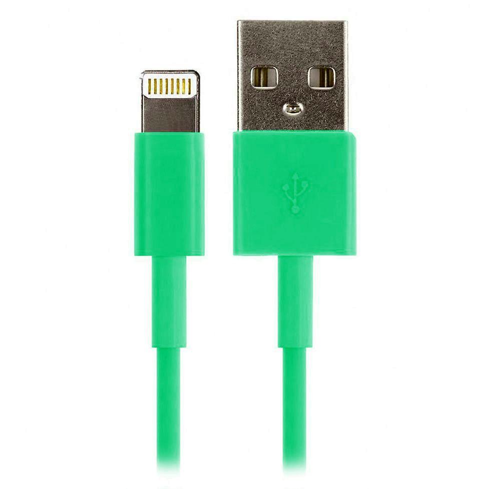 ����-������ Smartbuy USB - 8-pin ��� Apple, �������, ����� 1,2 �, ������� (iK-512c green)/500