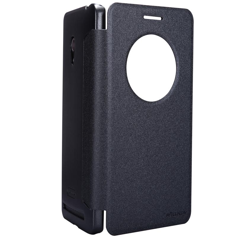����� Nillkin Sparkle leather case ��� Asus ZenFone 6 (����-������), T-N-AZP6-009