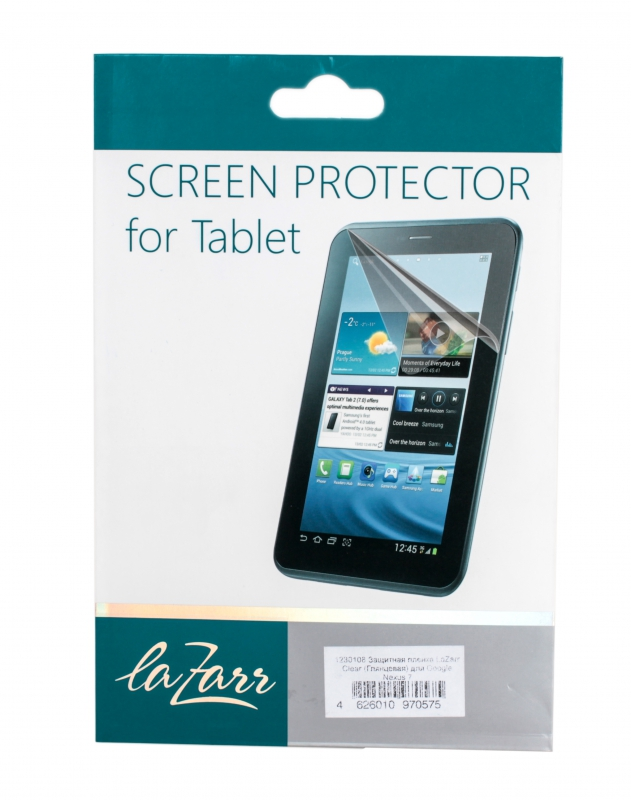 LaZarr Clear ��� Google Nexus 7 Glare