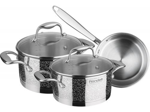 Купить <b>набор посуды</b> для готовки Rondell Vintage RDS-379 (<b>6</b> ...