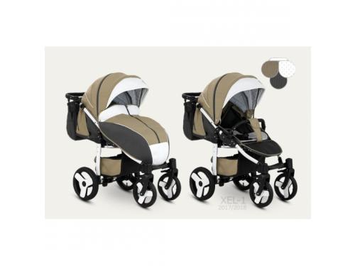 4f1e237e2da9ec Купить коляску Camarelo Elf (XEL-1), коричневая по цене от 14000 ...