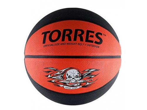 43f9c72b Купить мяч баскетбольный TORRES Game Over серо-красный по цене от ...