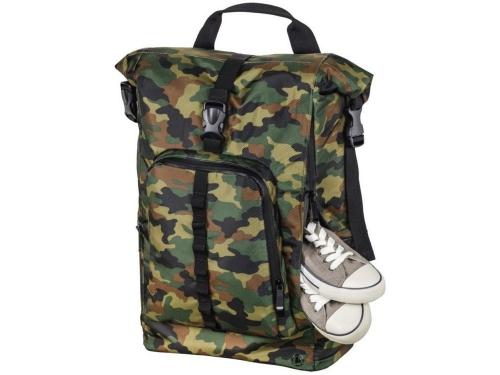 6a079d444878 Купить рюкзак городской Hama Roll-Top 15.6, зеленый/камуфляж по цене ...