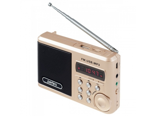 Купить <b>радиоприемник Perfeo PF</b>-<b>SV922</b>, золотистый по цене от ...