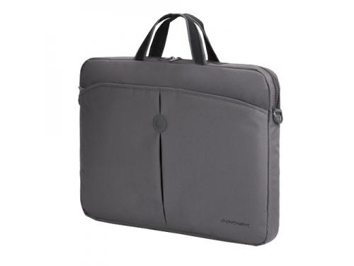 054c8955a93c Купить сумку для ноутбука Continent CC-01 Black-silver 15
